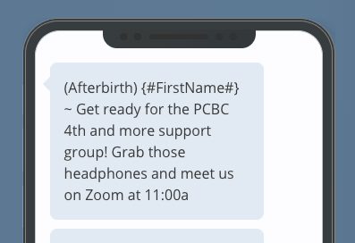 Text Reminder